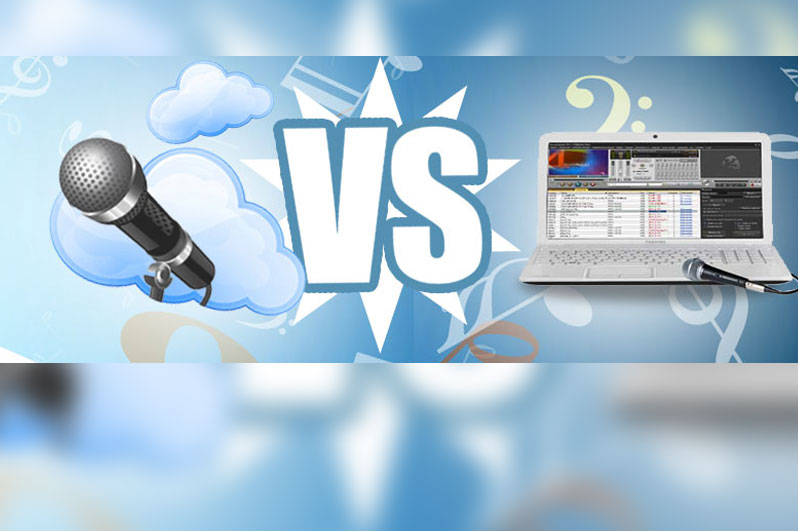 Karaoke Online vs programas karaoke