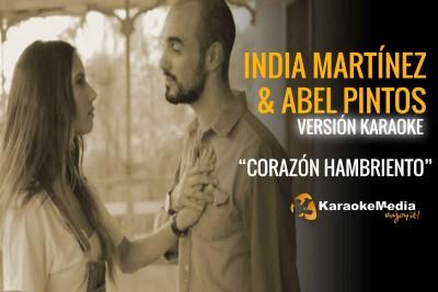 India Martinez y Abel Pintos – Corazón Hambriento