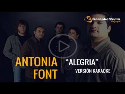 Antonia Font – Alegria