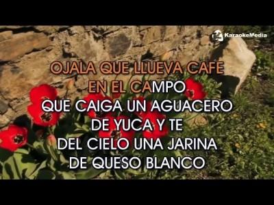 Juan Luis Guerra – Ojala Que Llueva Cafe
