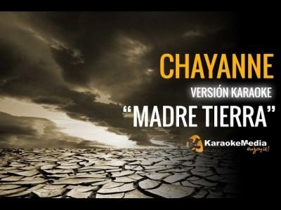 """Chayanne – """"Oye"""" Madre Tierra (Karaoke)"""