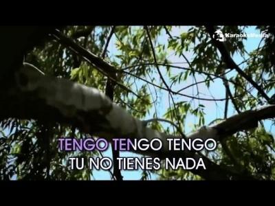 Infantil – Tengo Tengo Tengo (Karaoke)