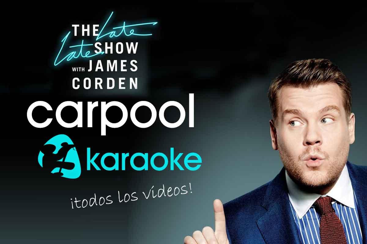 Carpool Karaoke Todos los Vídeos