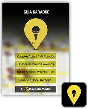 KaraokeMedia APP, the karaoke parties guide using GPS
